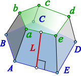area lateral surface regular truncated pyramid