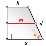 d lateral side rectangular trapezoid S