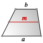 middle line trapezoid