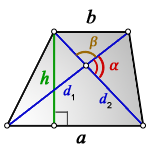 sides trapezoid d