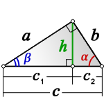 height right triangle