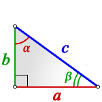 sides right triangle
