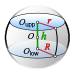 volume spherical layer