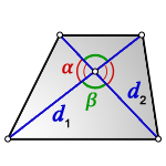 area of trapezoid d