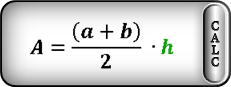 area of trapezoid m formula1