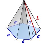 surface area regular pyramid