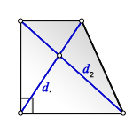 d right trapezoid