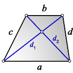 diagonals trapezoid f