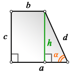 c lateral side rectangular trapezoid ab