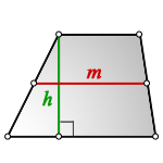 middle line trapezoid S