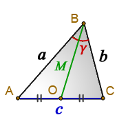 Median arbitrary triangle