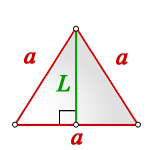 height equilateral triangle