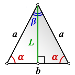 height isosceles triangle