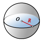 volume solid sphere
